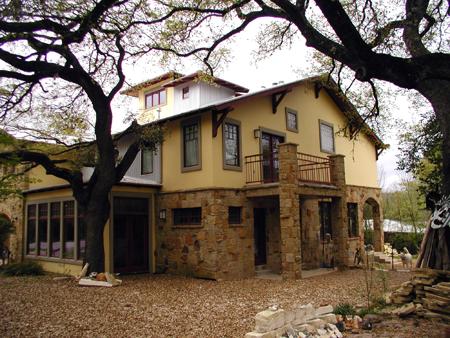 Hobbs' Ink-Green Building-Craftsman House Plans-Remodel Design on